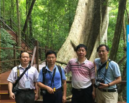 彭春良书记带队参加中国植物园联盟项目培训与交流会议
